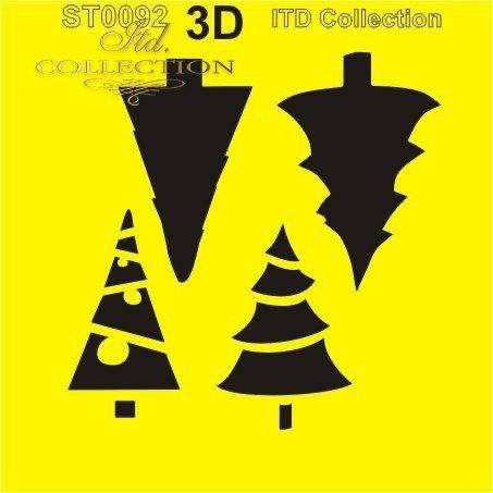 .шаблон для скрапбукинга 16x16 cм ST0092A