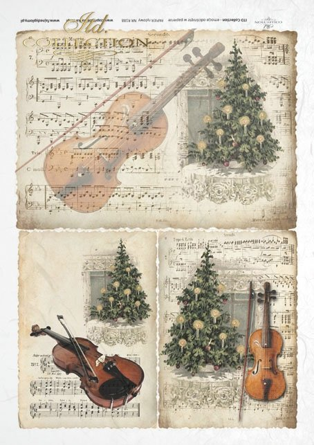 ITD Collection, decoupage, scrapbooking, mixed media, Christmas,