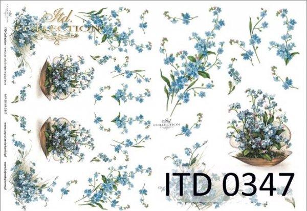 бумага для декупажа классическая D0347M