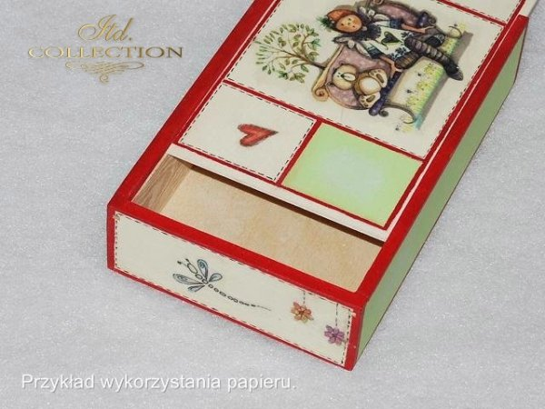 ITD Collection, decoupage, scrapbooking, mixed media - example 1