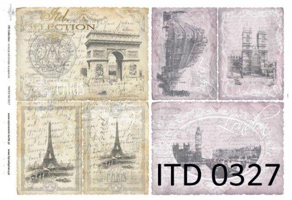 бумага для декупажа классическая D0327
