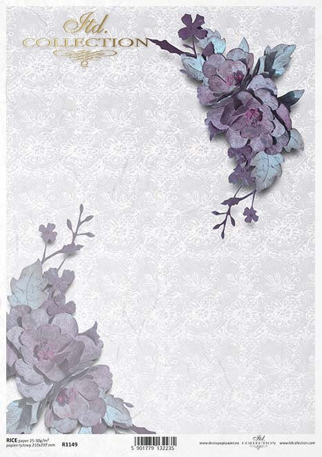 flores de papel decoupage, encajes*decoupage papírové květiny, krajky* 47/5000 decoupage Papierblumen , Spitzen