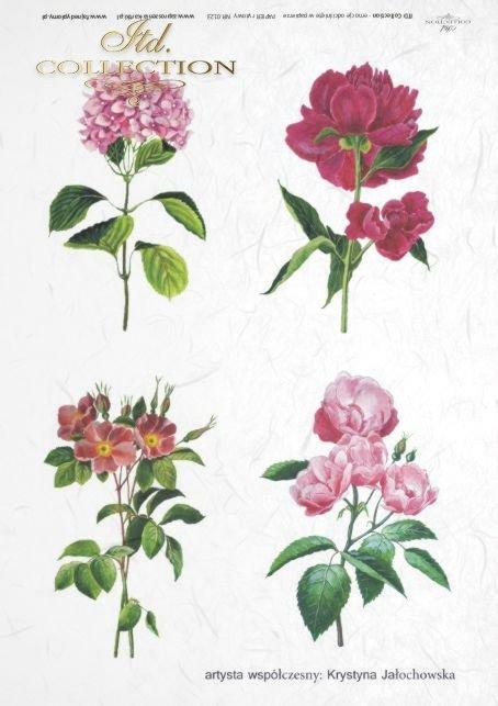 papier-ryżowy-decoupage-kwiaty-ogród-Krystyna-Jałochowska-R0123