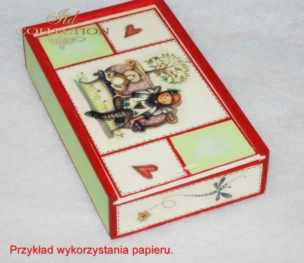 ITD Collection, decoupage, scrapbooking, mixed media - example 3