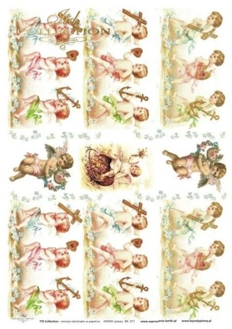 aniołki, anioł, aniołek, cherubin, cherubiny, R077