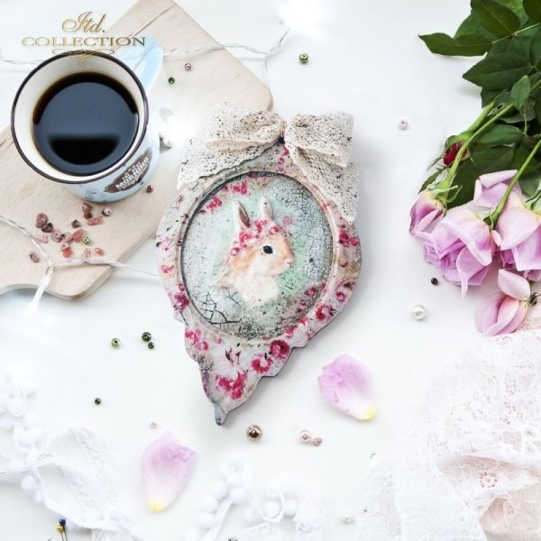 rice paper * shabby chic * example - 3