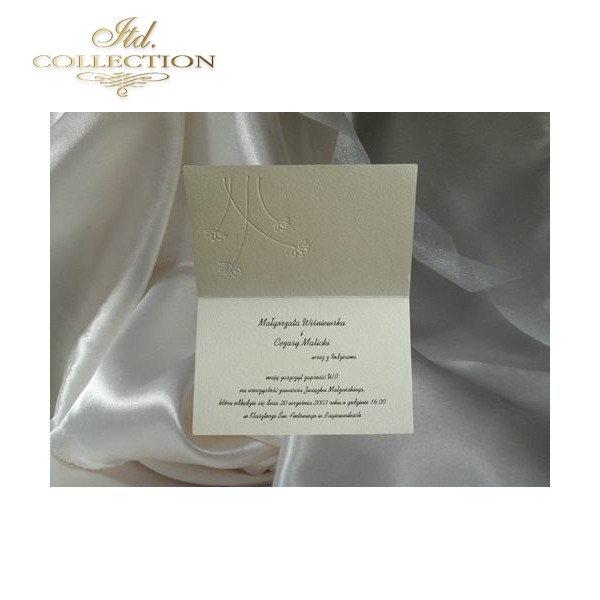 Einladungskarten / Hochzeitskarte 0247