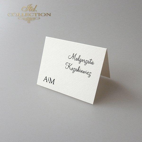 Einladungskarten / Hochzeitskarte 2028