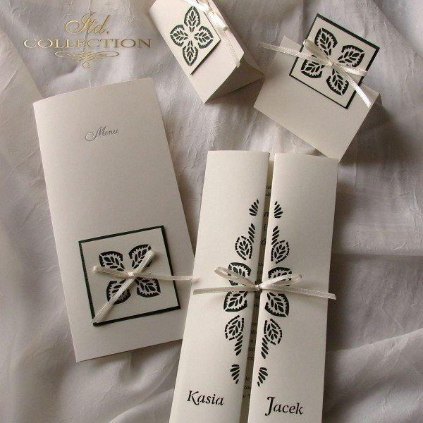 Einladungskarten / Hochzeitskarte 1703