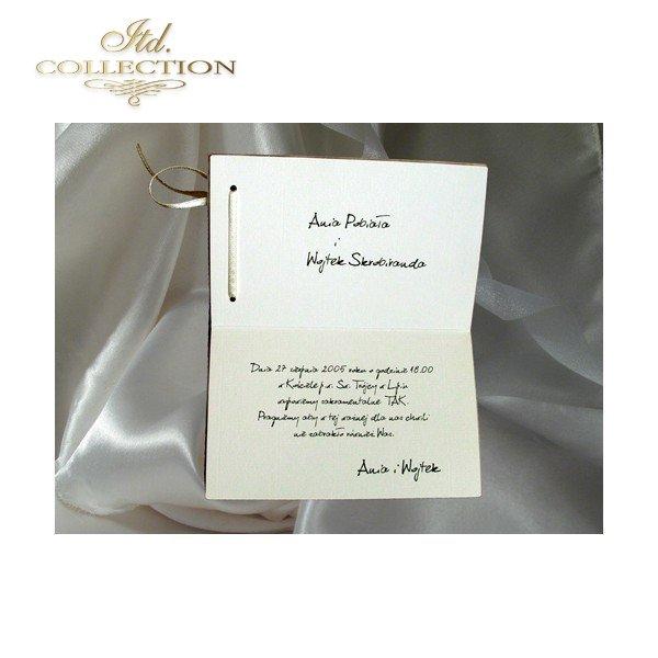 Einladungskarten / Hochzeitskarte 1278