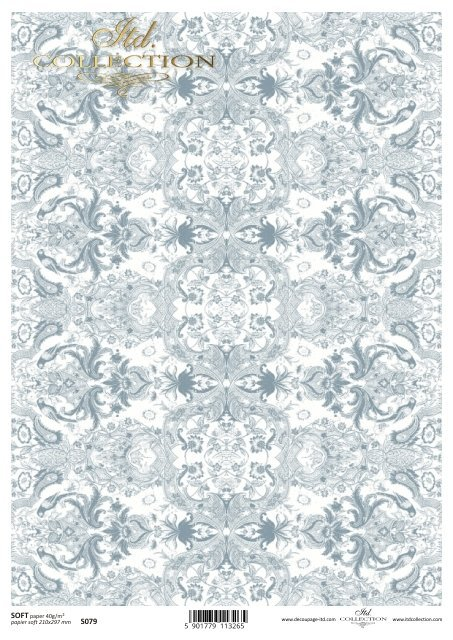 Decoupage paper Soft ITD S0079