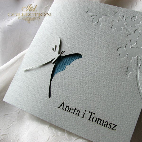 Invitations / Wedding Invitation 1724_18_turquoise