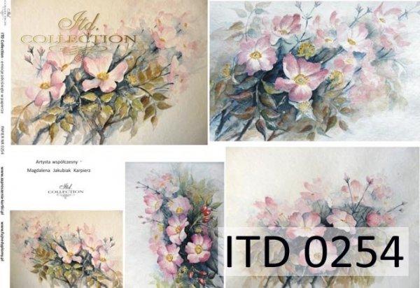 Decoupage paper ITD D0254M