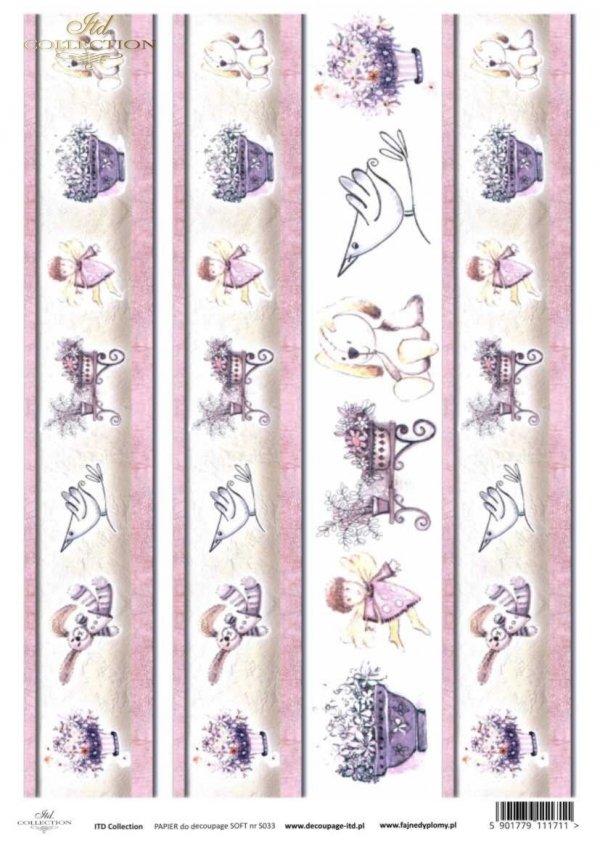 Decoupage paper Soft ITD S0033