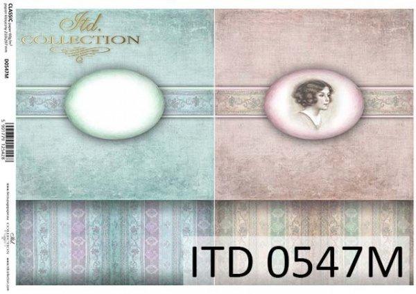 Decoupage paper ITD D0547M