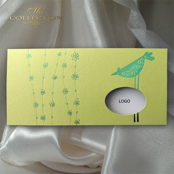 Easter card KW151