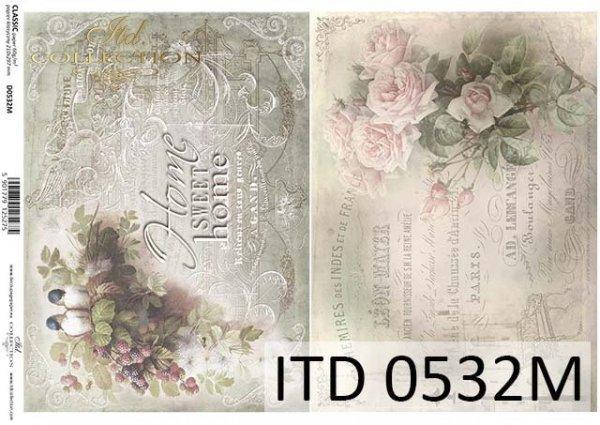 Decoupage paper ITD D0532M