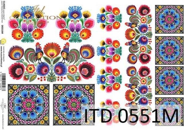Decoupage paper ITD D0551M