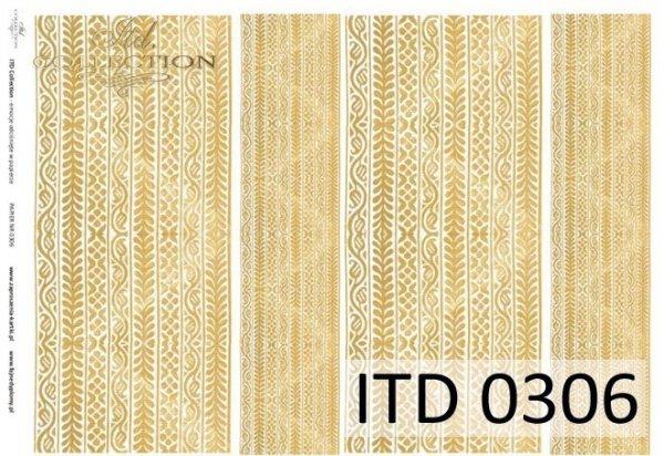 Decoupage paper ITD D0306M