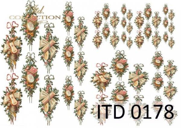 Decoupage paper ITD D0178M