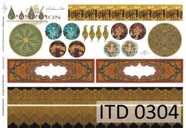 Decoupage paper ITD D0304M