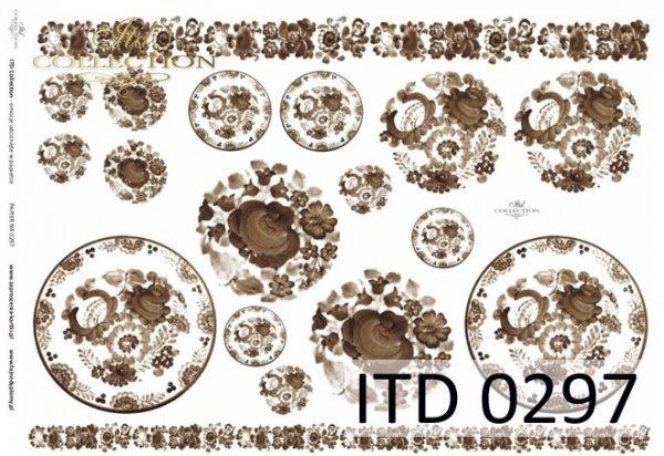 Decoupage Paper ITD D0297M