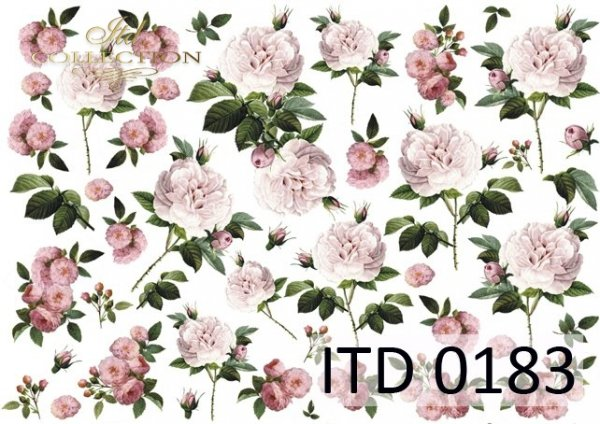 Decoupage paper ITD D0183M