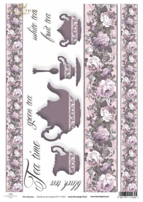 Decoupage paper Soft ITD S0022