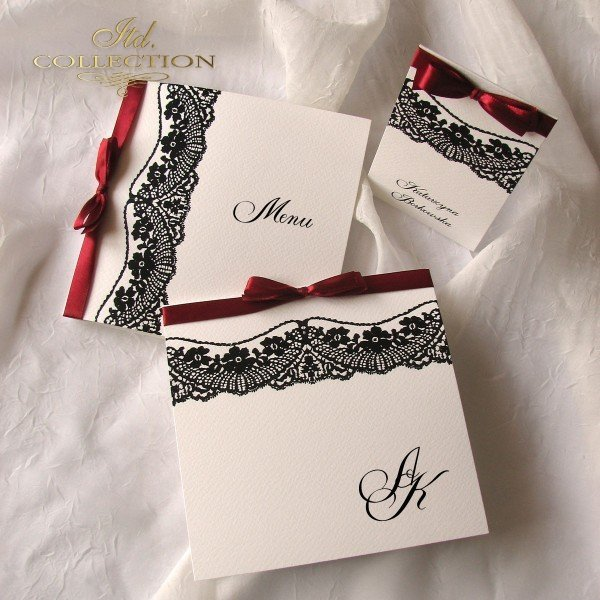Invitations / Wedding Invitation 1715