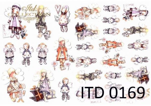 Decoupage paper ITD D0169M