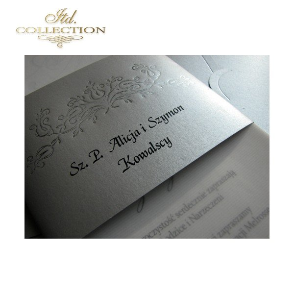 Invitations / Wedding Invitation 1499
