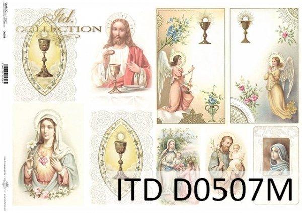 Decoupage paper ITD D0507M