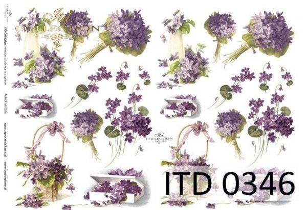 Decoupage paper ITD D0346M