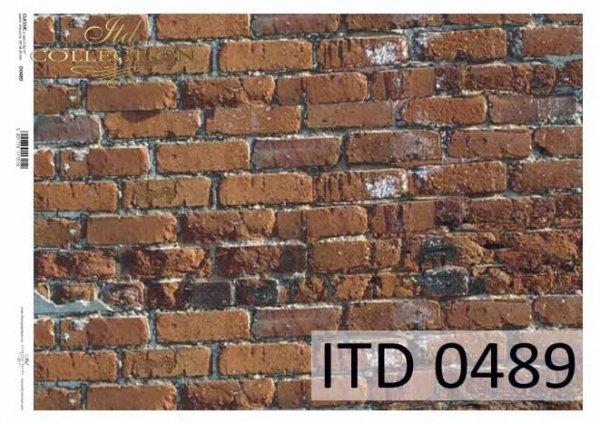 Decoupage paper ITD D0489M