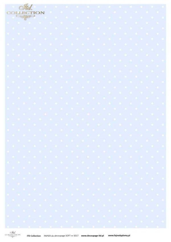 Decoupage paper Soft ITD S0017
