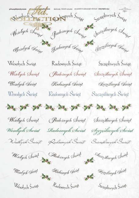 rice-paper-decoupage-Christmas-inscriptions (in Polish)