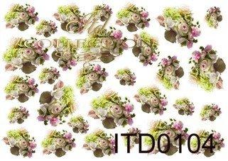 Papier decoupage ITD D0104M