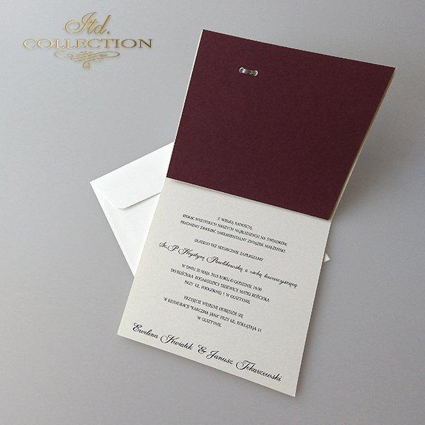 Zaproszenia ślubne / zaproszenie 2025
