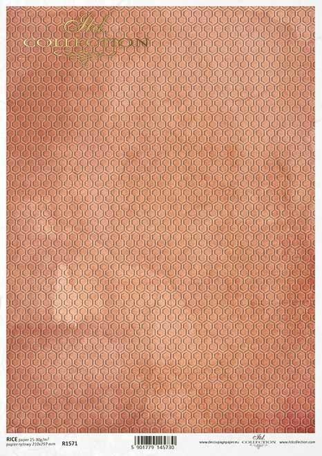Fondo decoupage naranja-rojo*Decoupage Papier orange-roter Hintergrund*Декупаж из бумаги Оранжево-красный фон