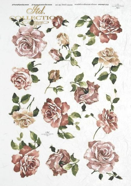 decoupage-rice-paper-flowers-buds-leaves-rose-roses-garden-R0120