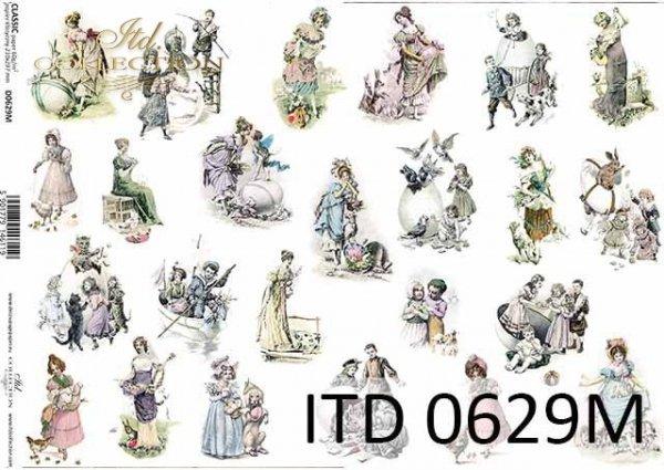 Papier decoupage ITD D0629M