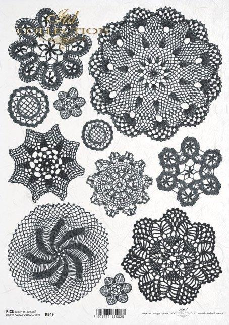 lace, hand-made, handmade, R549