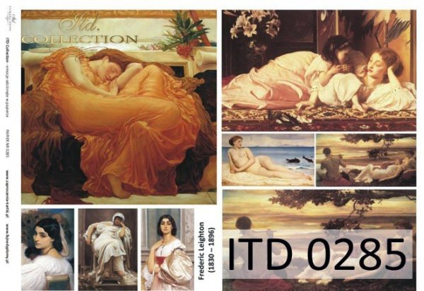 Papier decoupage ITD D0285