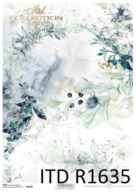 Papel de arroz - La tierra de porcelana helada*Reispapier - Das Land des Eisporzellans*Рисовая бумага - Земля ледяного фарфора