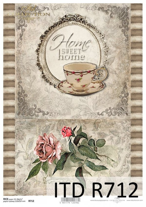 ITD Collection, decoupage, scrapbooking, mixed media, stencils, szablony