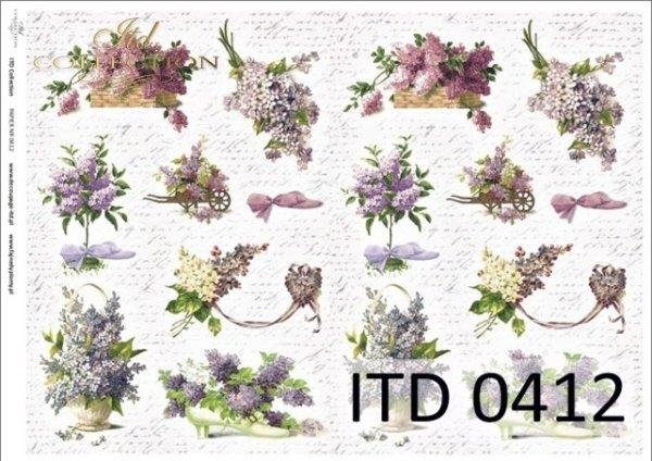 Papier decoupage ITD D0412M