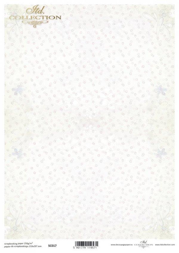 Papier scrapbooking SC0017
