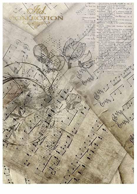 Papiery do scrapbookingu w zestawach - Fioletowa rapsodia * Scrapbooking Papiere in Sätzen - lila Rhapsodie