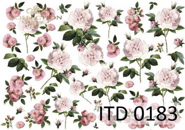 Papier decoupage ITD D0183