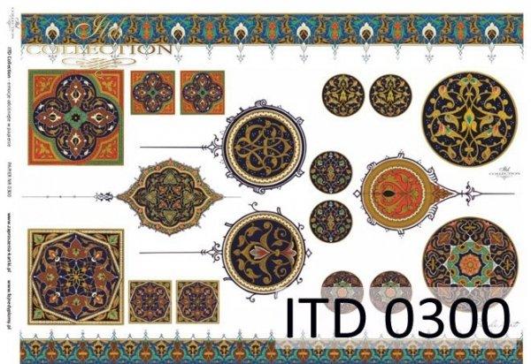 Papier decoupage ITD D0300M
